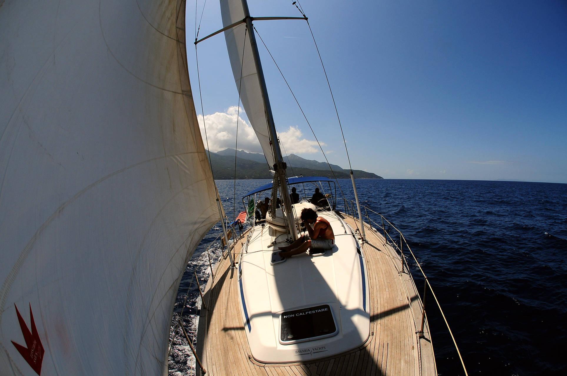 vacanze in barca a vela Elba e Corsica