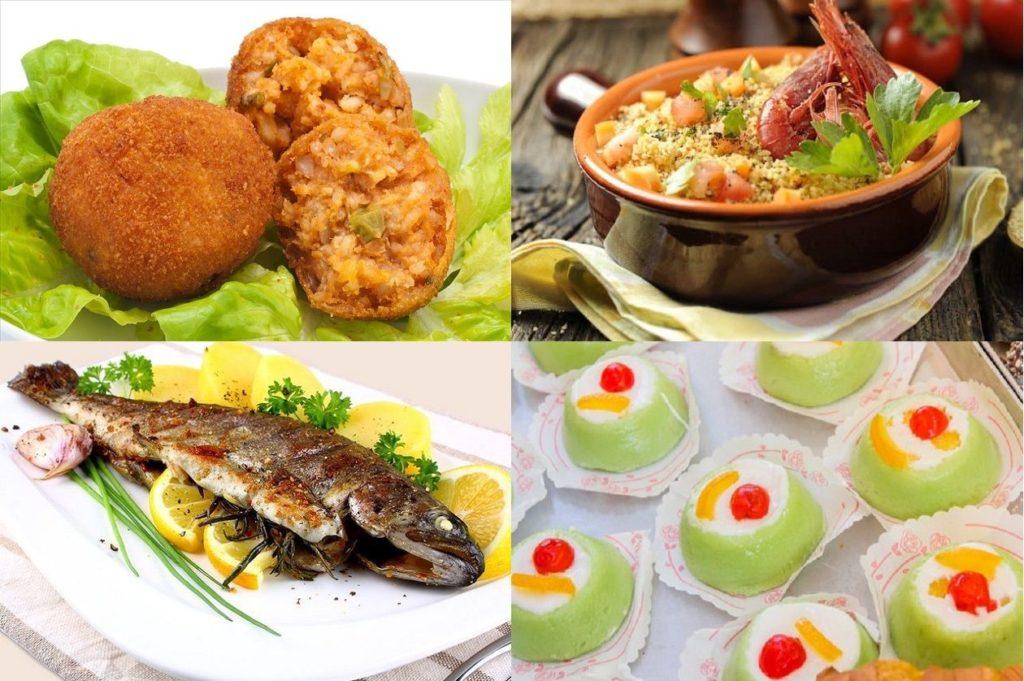 Piatti tipici della cucina siciliana