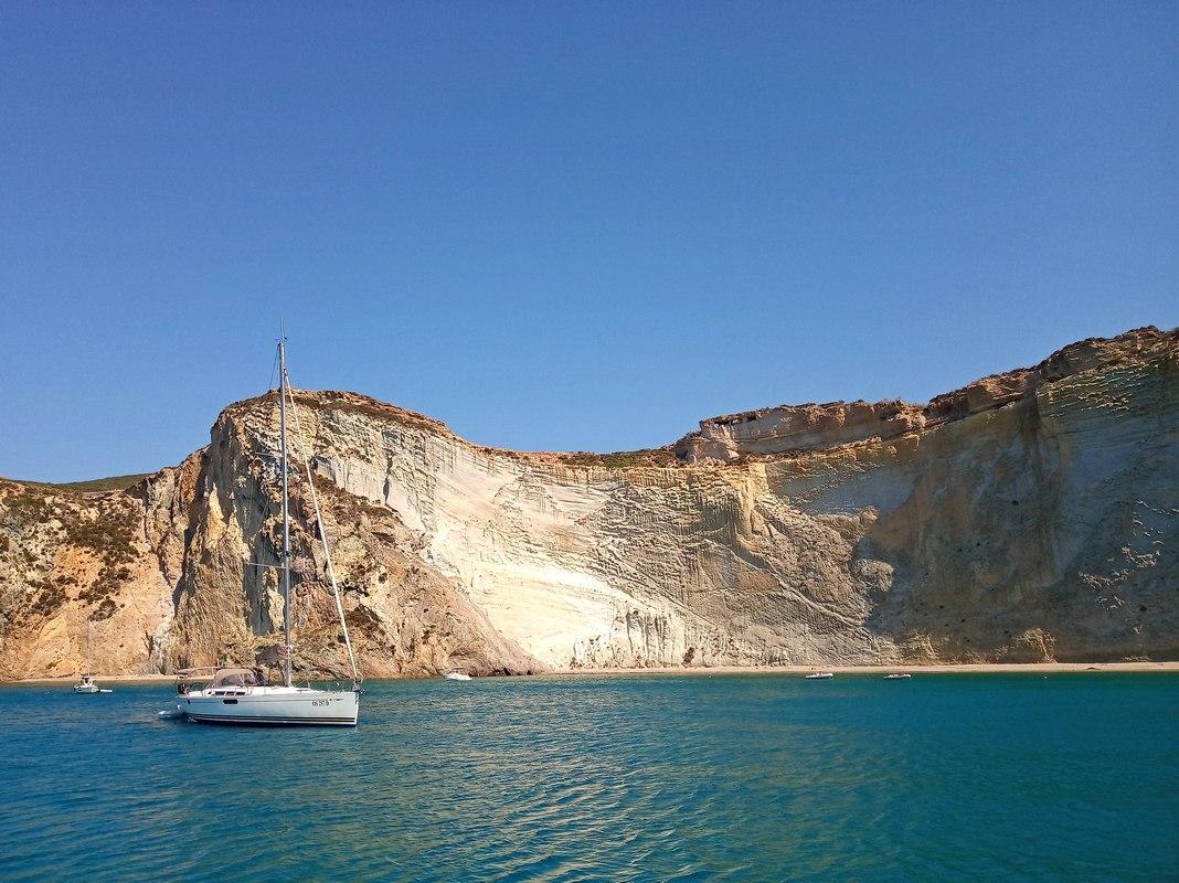 weekend in barca a vela Ponza Palmarola Arcipelago Pontino