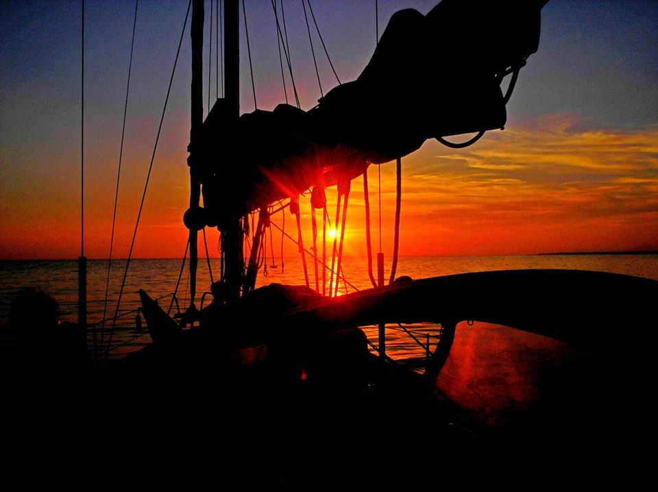 weekend in barca a vela Giglio Giannutri in Arcipelago Toscano