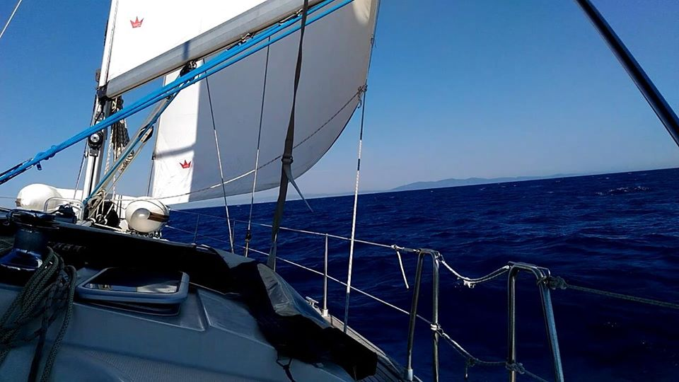 weekend in barca a vela Ponza Palmarola Arcipelago Pontino e isole Pontine
